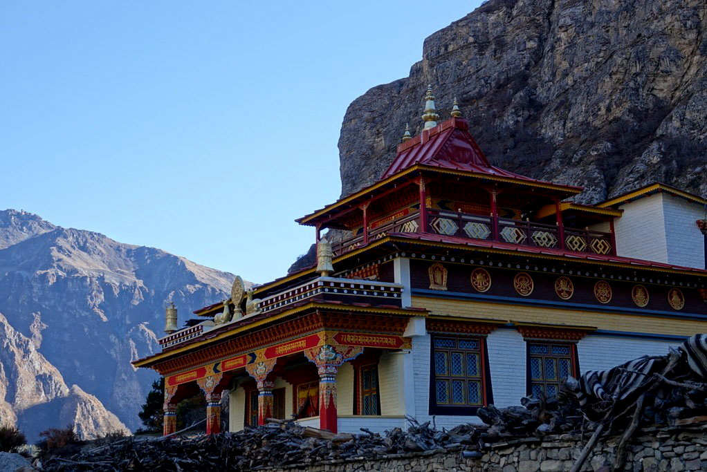 The Buddhist Monastery in Nar Phedi