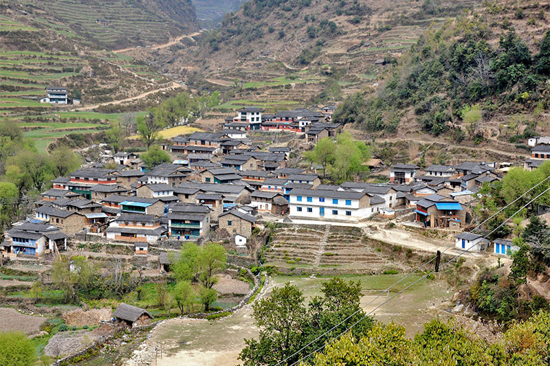 Taman Village in Western Baglung