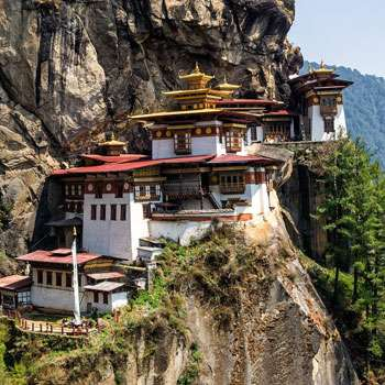The Tiger's Nest: one of the holiest sites in Bhutan