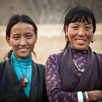 Local women from Dolpo