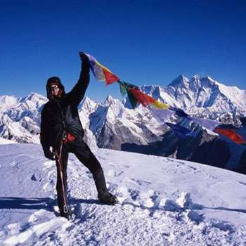 On Mera Peak Summit