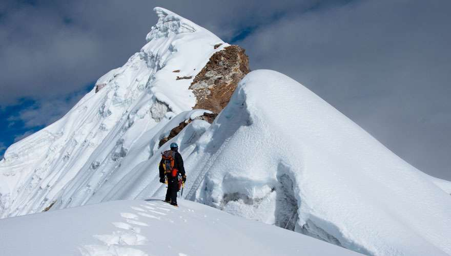 Climbing Lobuche Peak in Everest