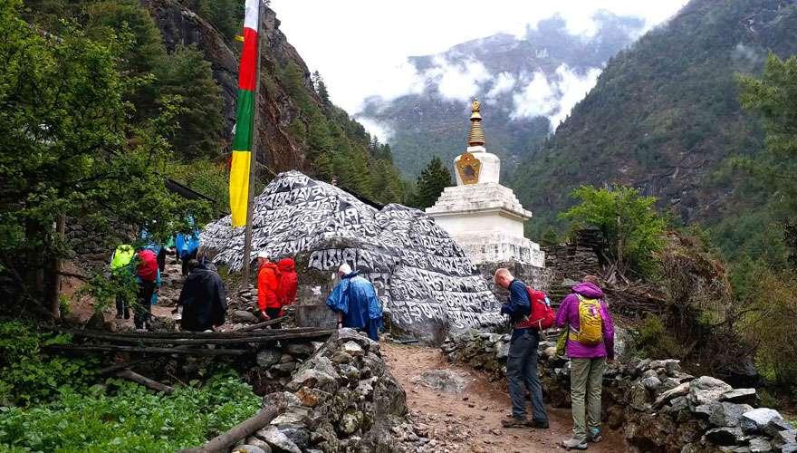 Everest Base Camp from Jiri