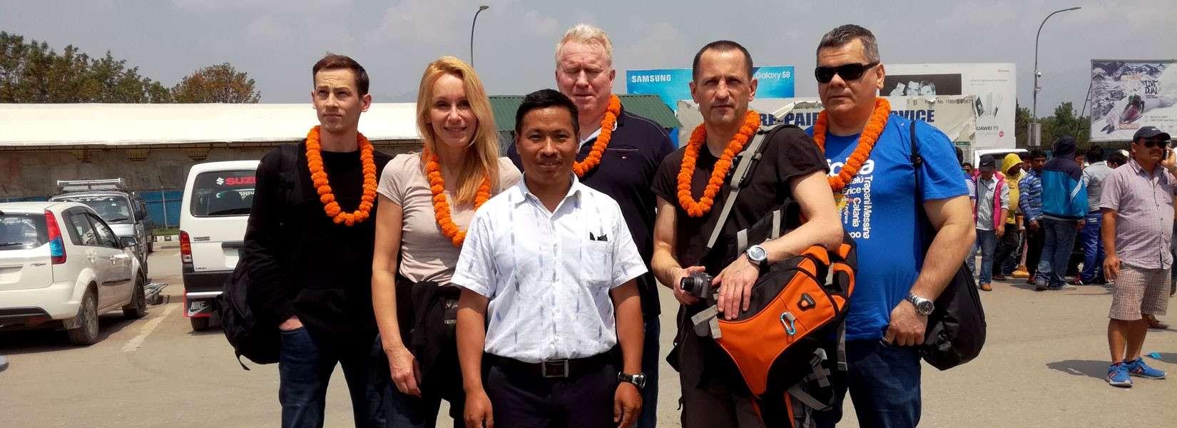 Tour guide in Kathmandu
