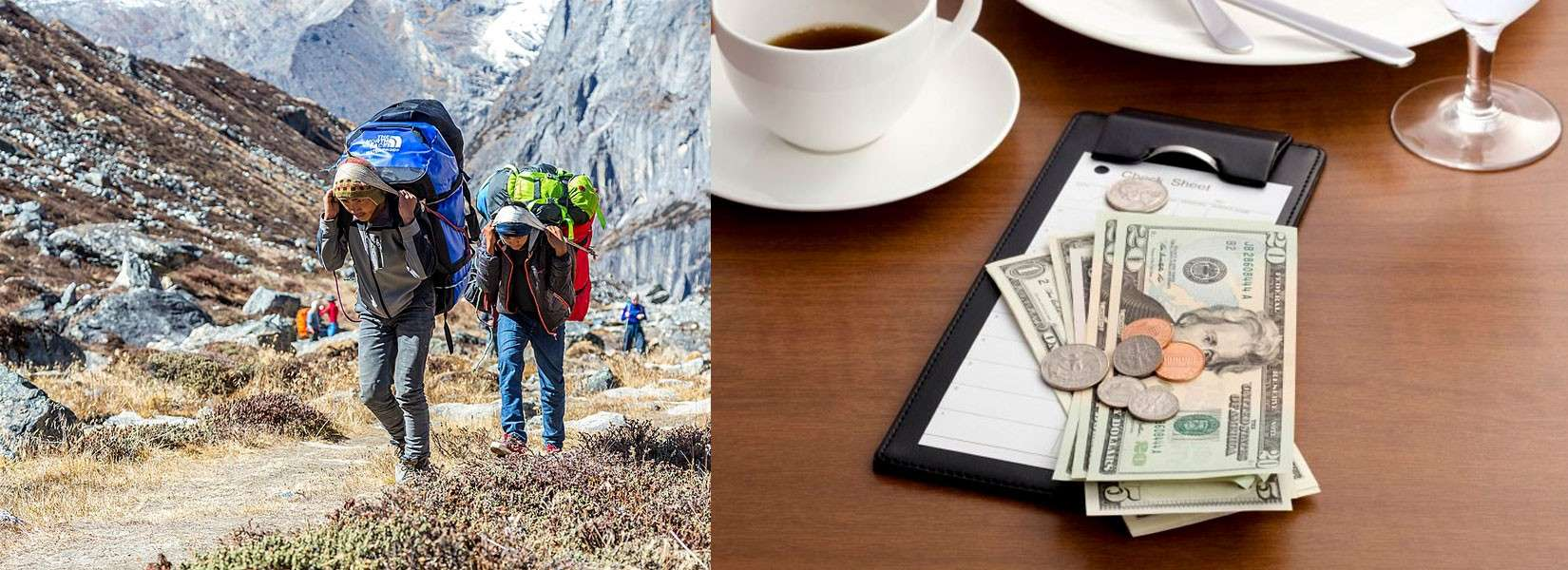 How much to tip guides and porters in Nepal