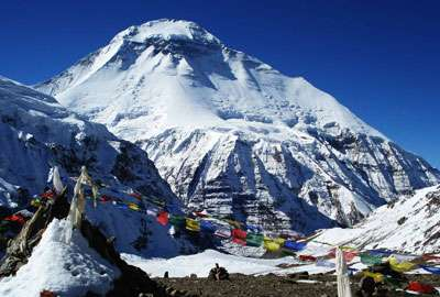 French pass in Dhaulagiri