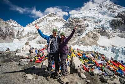 Everest Base Camp (5364 Meter high)
