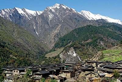 Gurja Khani village