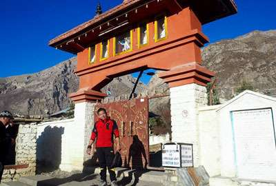 Our local trekking guide for Annapurna