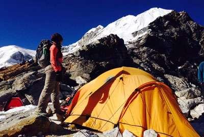 Lobuche Peak Base Camp