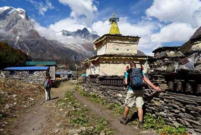 Samagaun in Manaslu Trekking Route