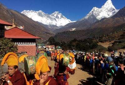 Mani Rimdu Festival Trek