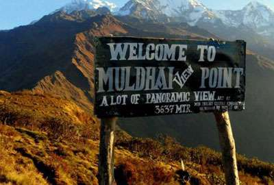 Mulde View Point Trek in Annapurna