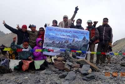 Terila pass (5500m) trekking