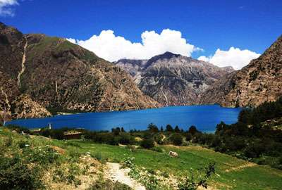 Shey Phoksundo Lake in Dolpo